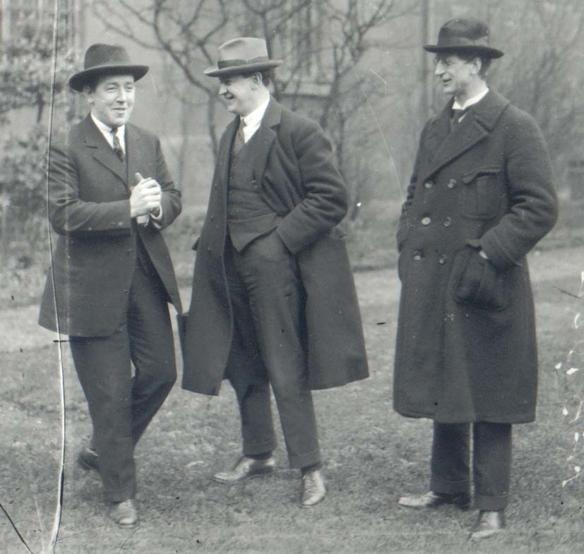 Harry Boland, Michael Collins and Eamon de Valera