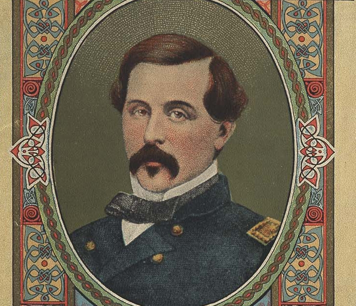 'Origins of the Irish Tricolour'<strong>The story of Union General Thomas Francis Meagher and the Irish flag</strong><a href= /1916-easter-rising/tricolour>CLICK HERE TO READ MORE</a>