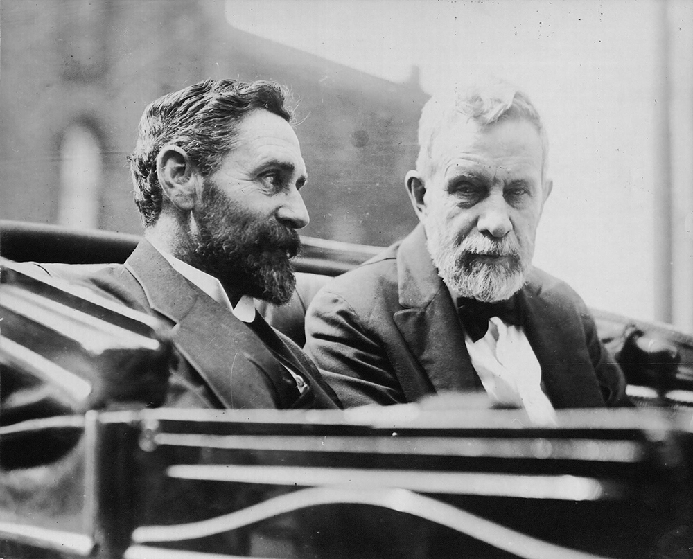 Roger Casement with New York Fenian leader John Devoy, 1914