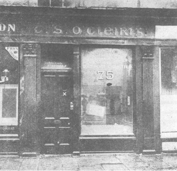 Tom and Kathleen's shop on Parnell Street