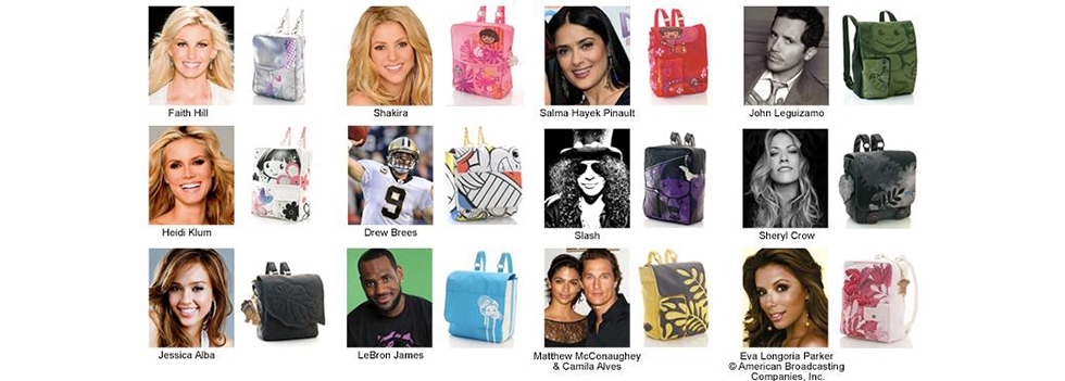 Custom Celebrity Backpacks for Dora