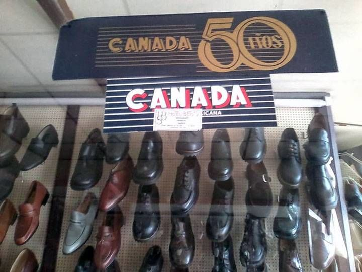 Canada brand shoes were very popular in México in the 70s and 80s.