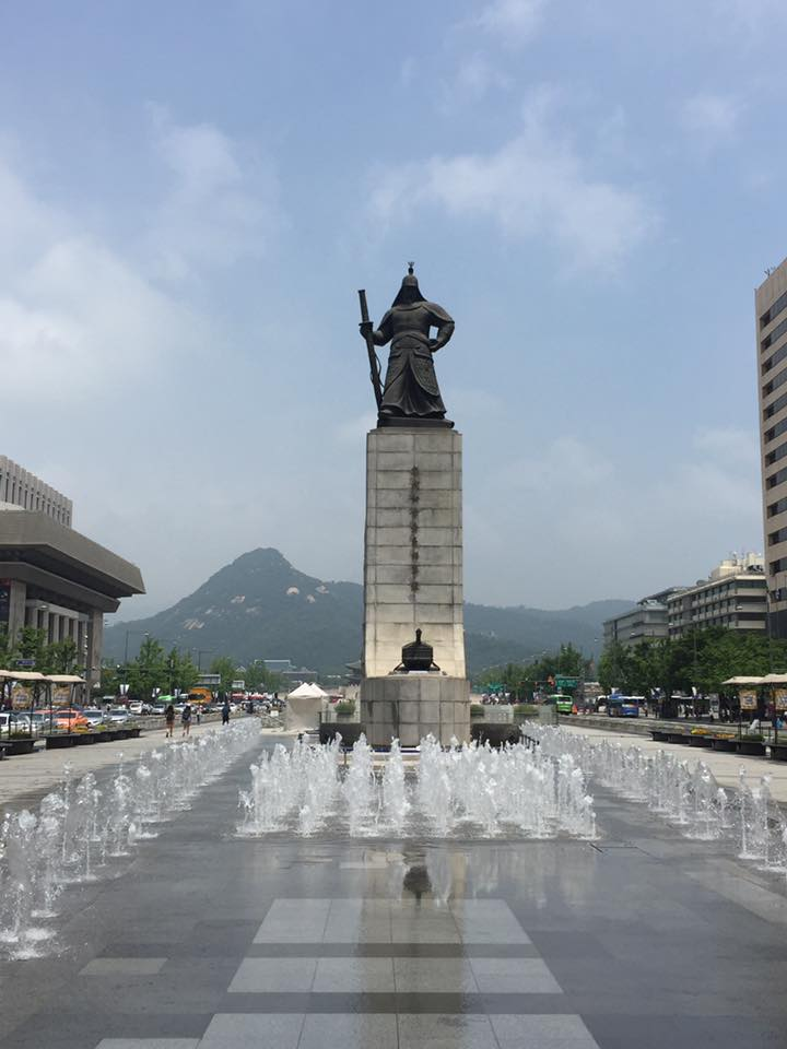 King Sejong in Seoul