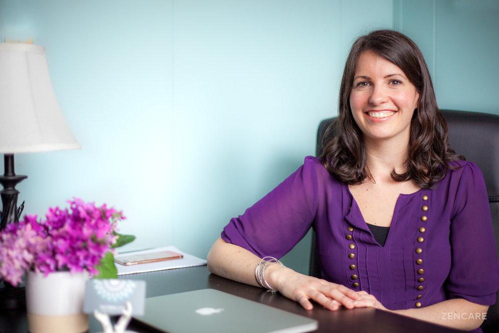Erica Gebhart  is a therapist in Pawtucket, Rhode Island.