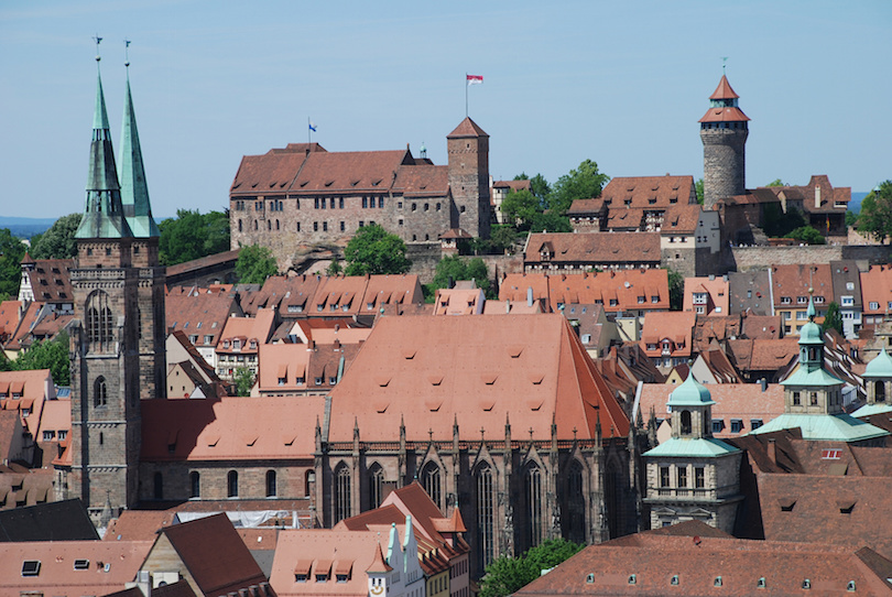 Figure 9a: Photograph of Nuremberg's Castle