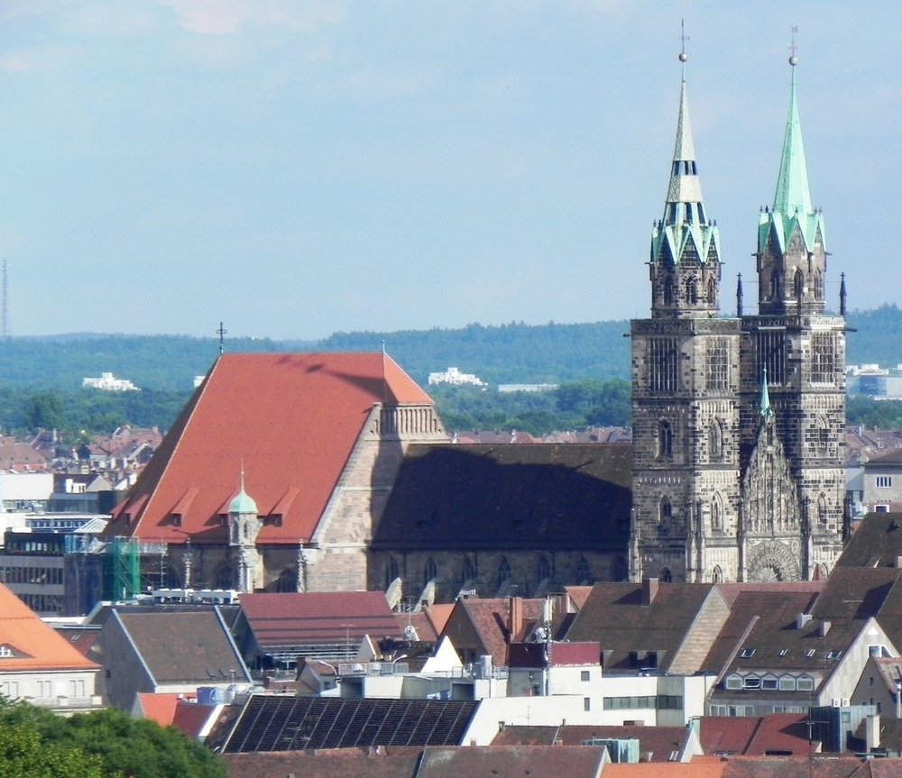 Figure 10a: Photograph of St. Lorenz Church