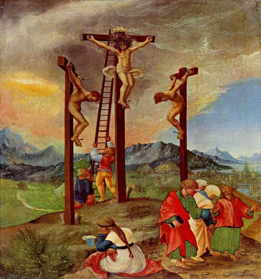 Figure 14: Albrecht Altdorfer, Crucifixion, 1526