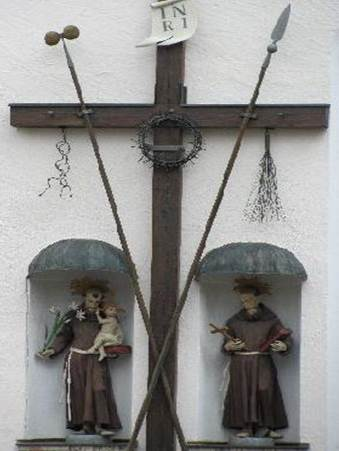 Figure 16: Photograph of Arma Christi Cross, southern Germany