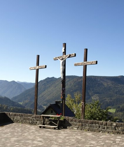 Figure 17: Three Golgotha Crosses, southern Germany