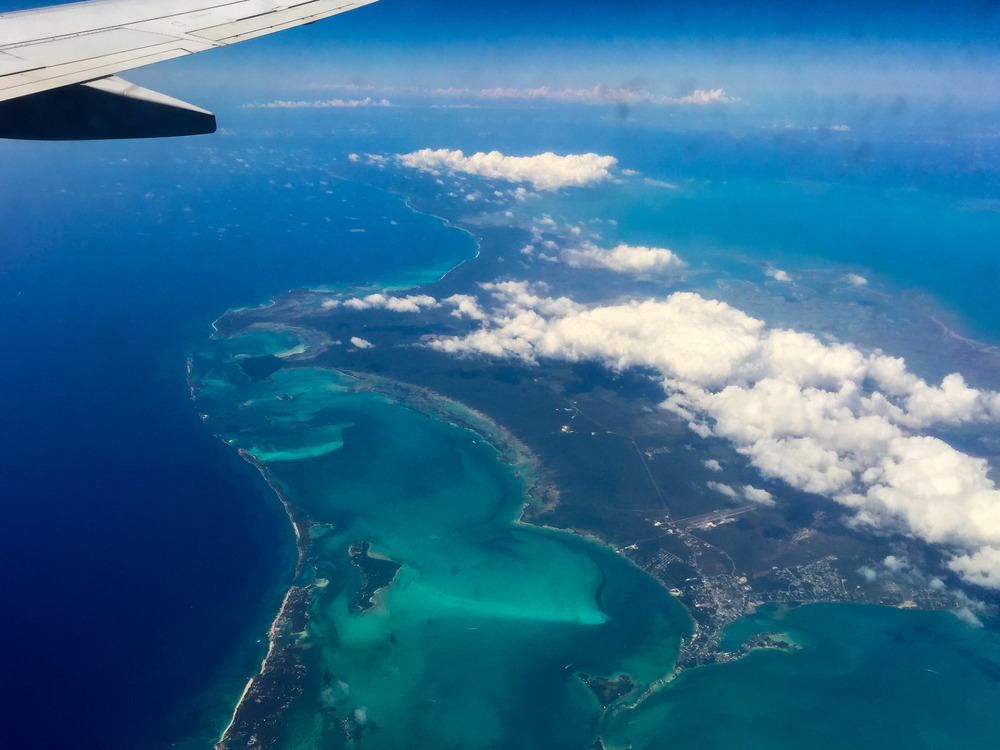 Flying High Above the Florida Keys