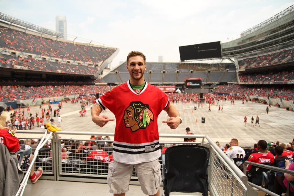 Go Hawks!! (Chicago is my hometown)