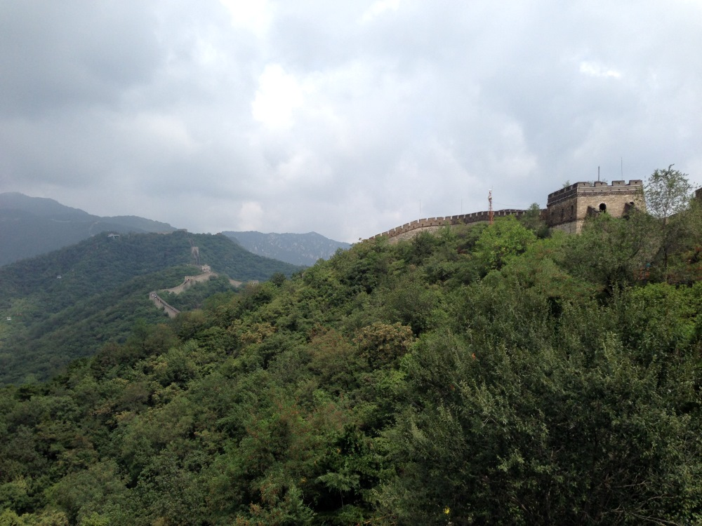 Great Wall of China at Mutianyu (August 31, 2014)