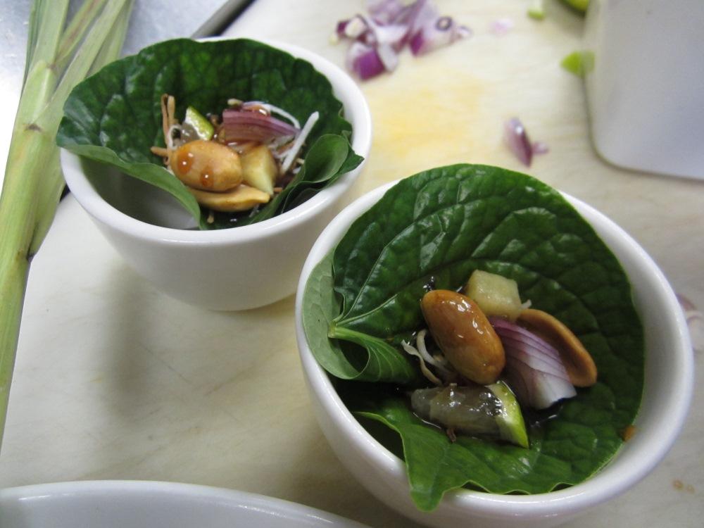 Vancouver chef  Tai Keattivanichvily's miang kham . (Published by the  Georgia Straight , February 26, 2014)