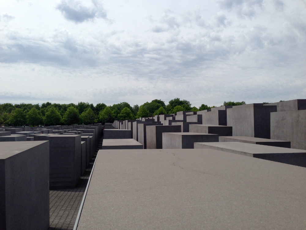 Memorial to the Murdered Jews of Europe, Berlin (May 12, 2015)