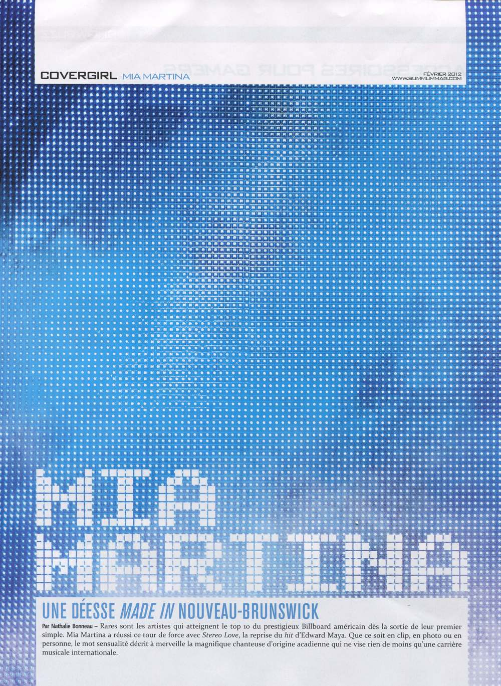 Mia Martina for Summum