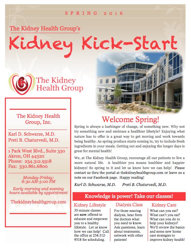 KHG Spring Newsletter