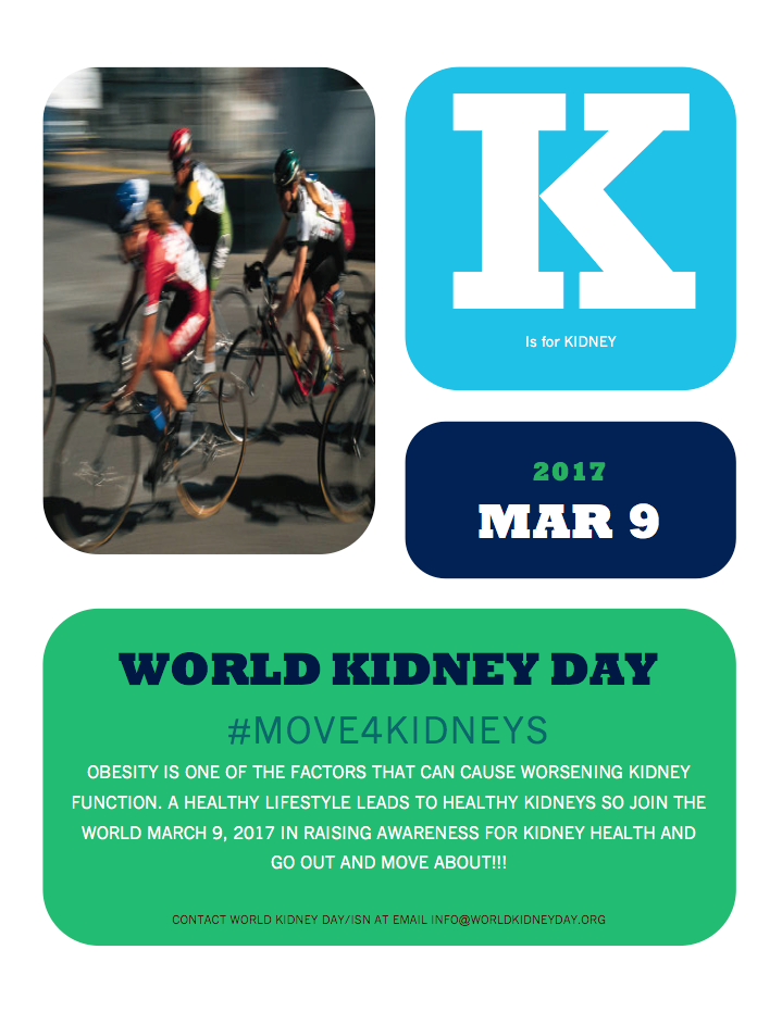 World Kidney Day - March 9 2017
