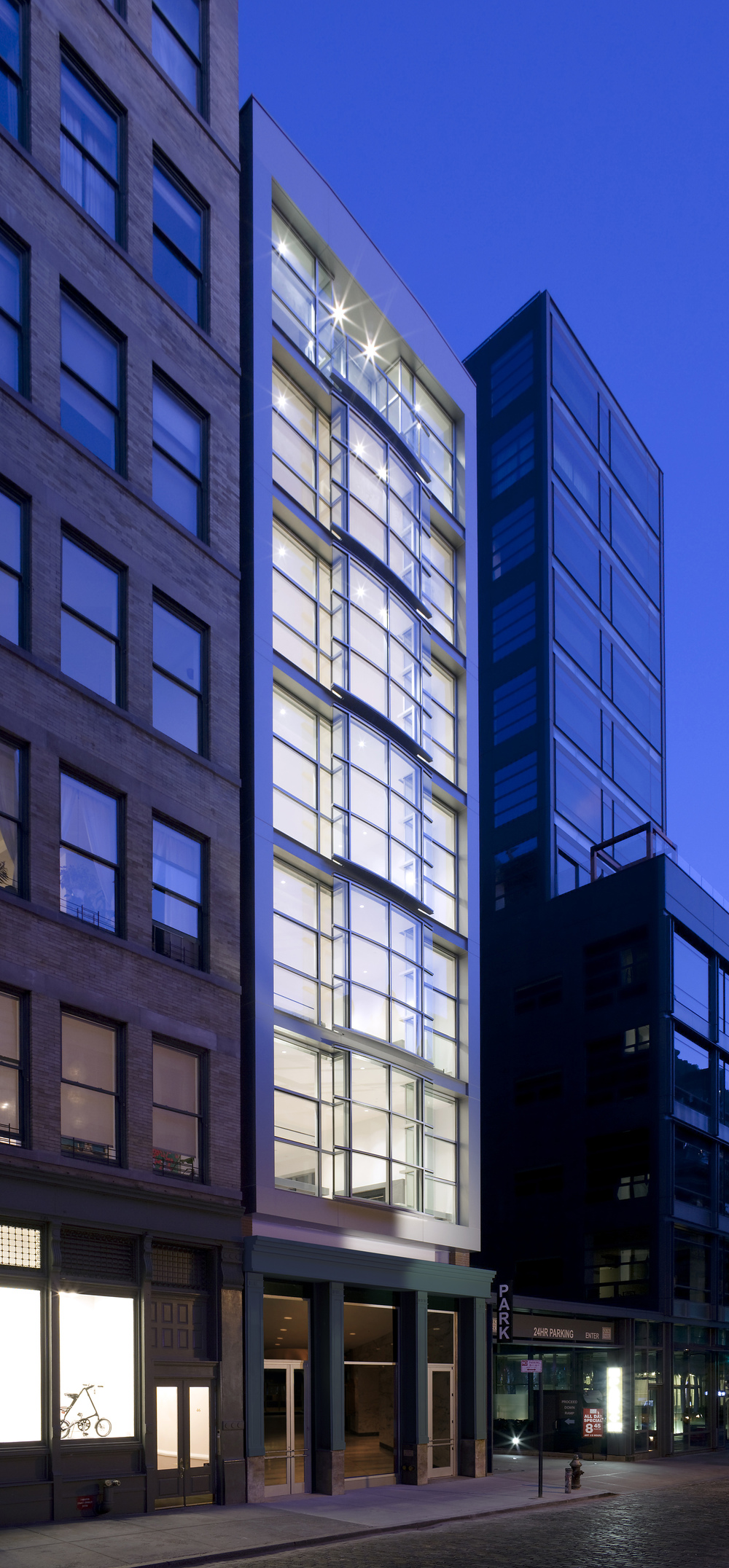 44 Mercer, Soho, Night Exterior