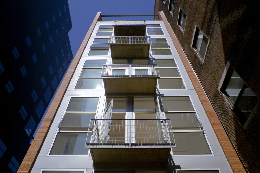 44 Mercer, Soho, Rear Facade