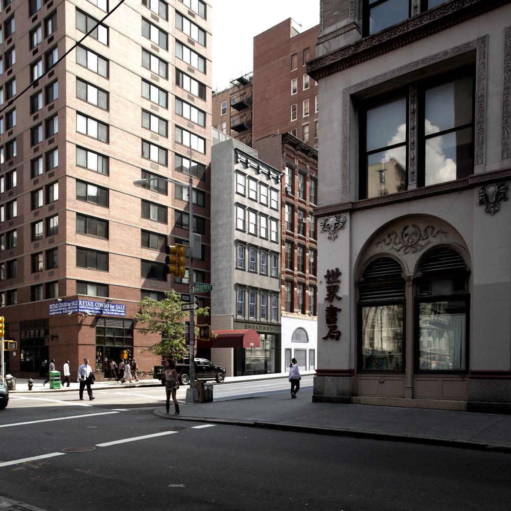Broadway view
