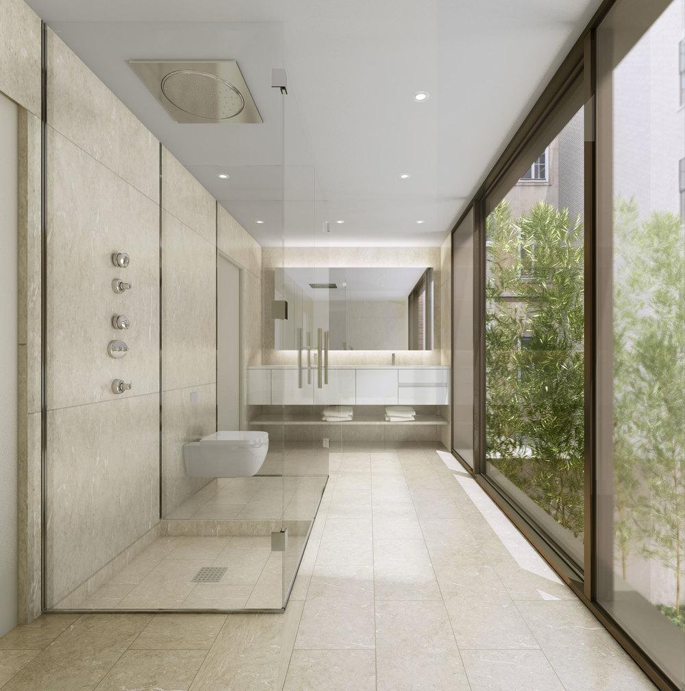 251 East 61st Street, Bathroom