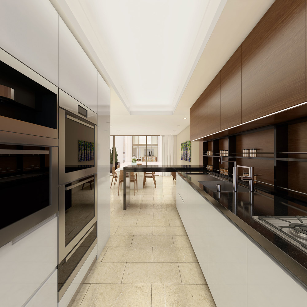 251 East 61st Street, Kitchen