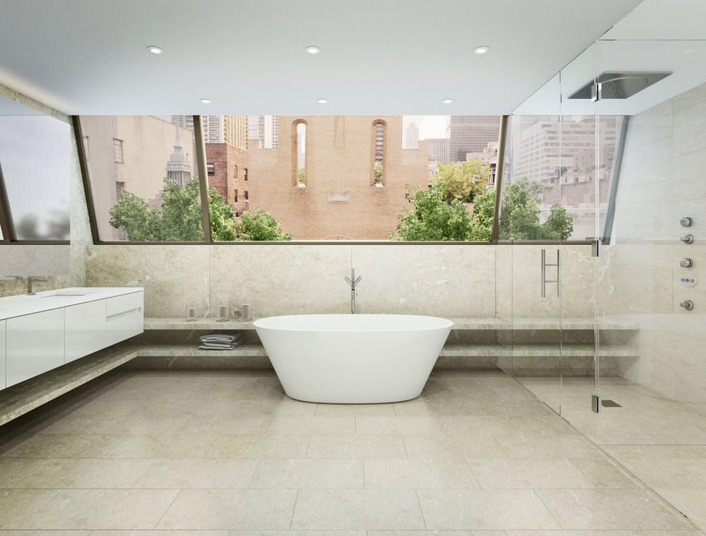 251 East 61st Street, Bathroom