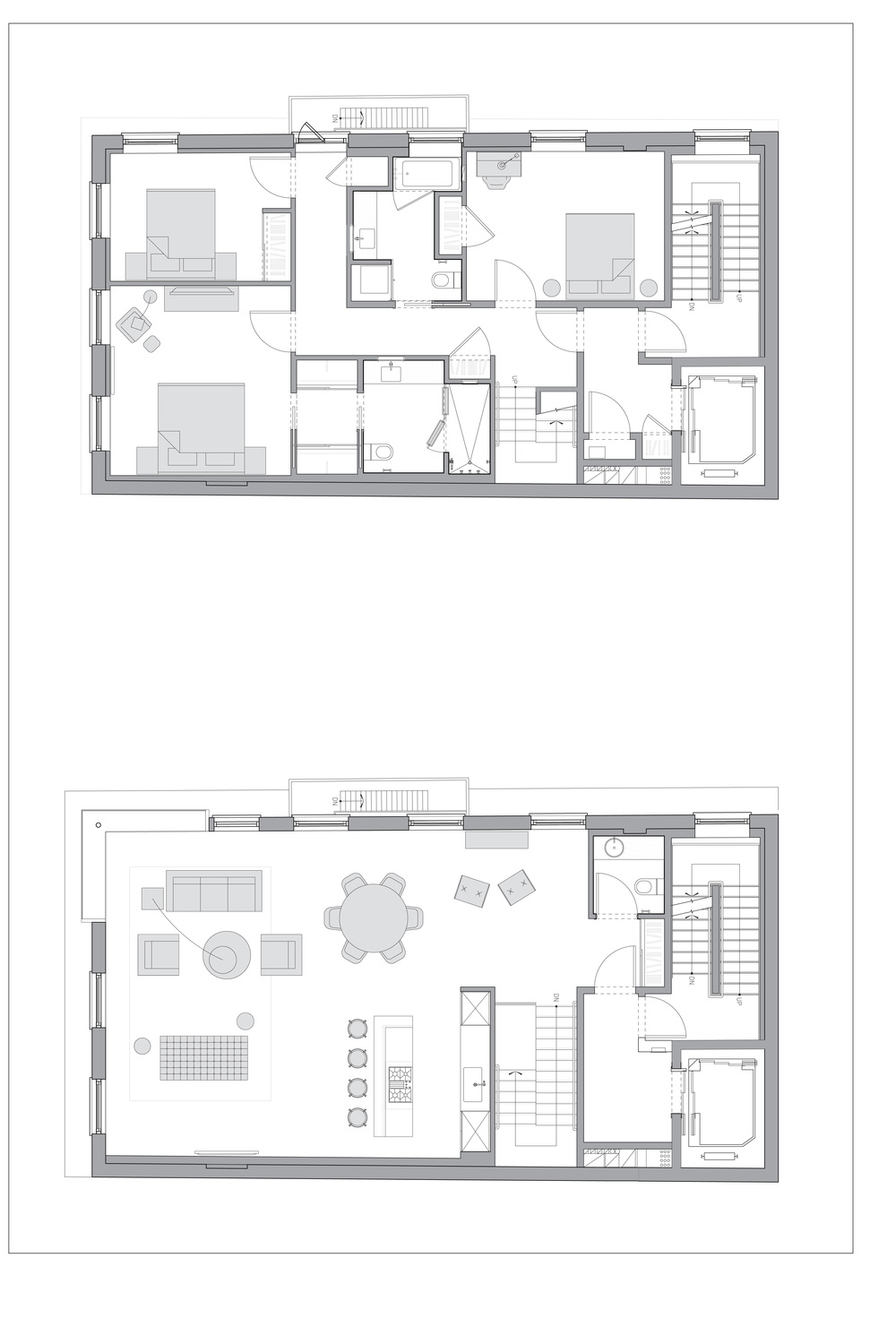 TriBeCa Loft, Floor Plan