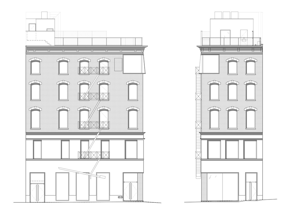 TriBeCa Loft, Building Plan