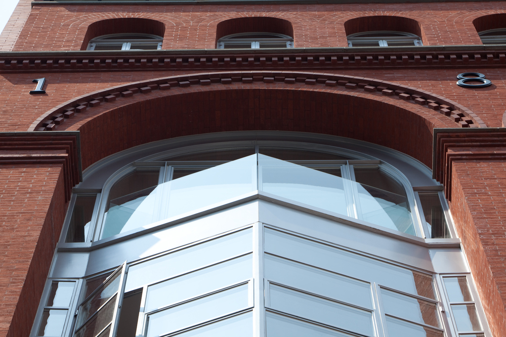 171 MacDougal, Front Facade Arch/Window
