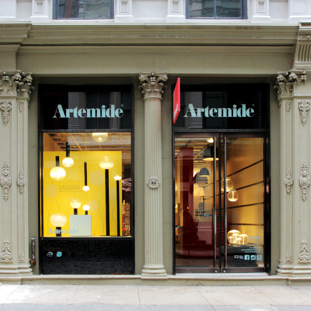 Artemide USA, SoHo, NYC