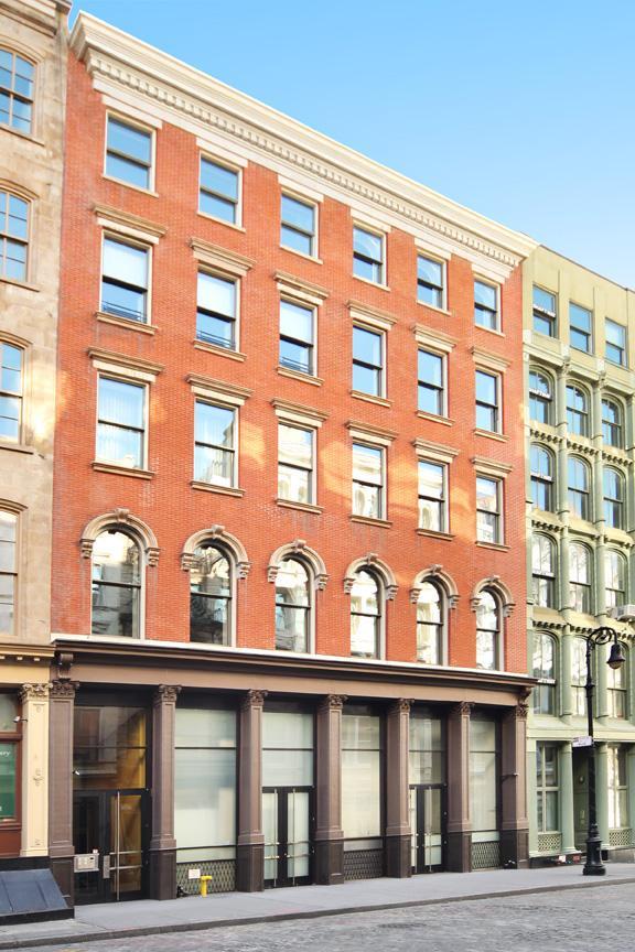 22 Mercer, Soho, Front Facade Streetview