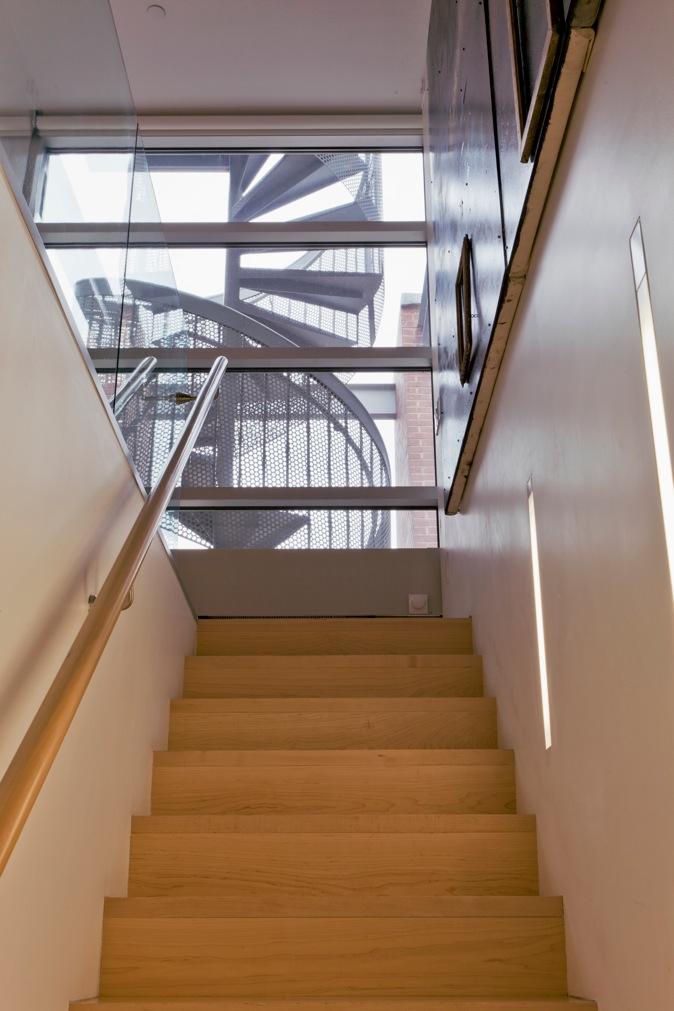 44 Mercer, Soho, Stairway