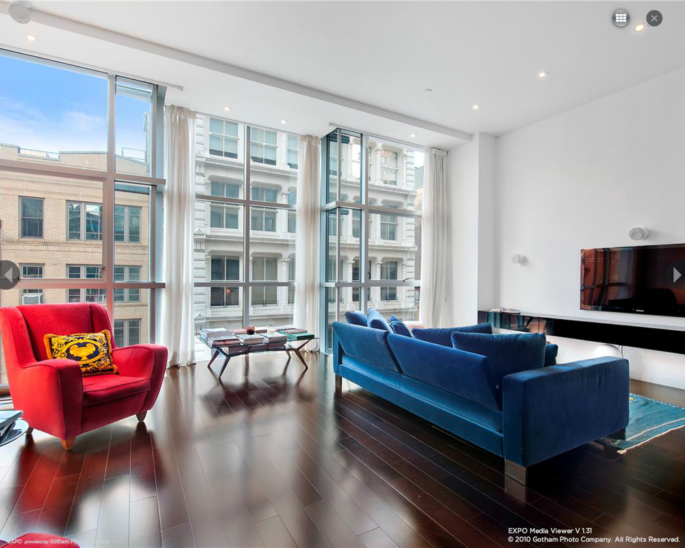 44 Mercer, Soho, Living Room