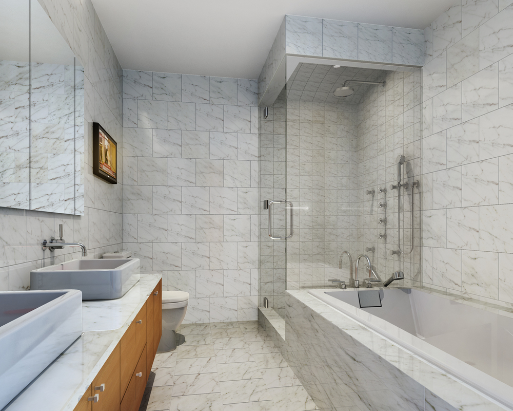 44 Mercer, Soho, Bathroom