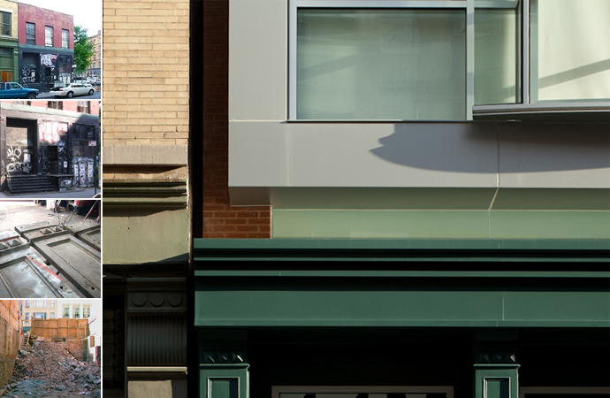 44 Mercer, Soho, Rear Window Design