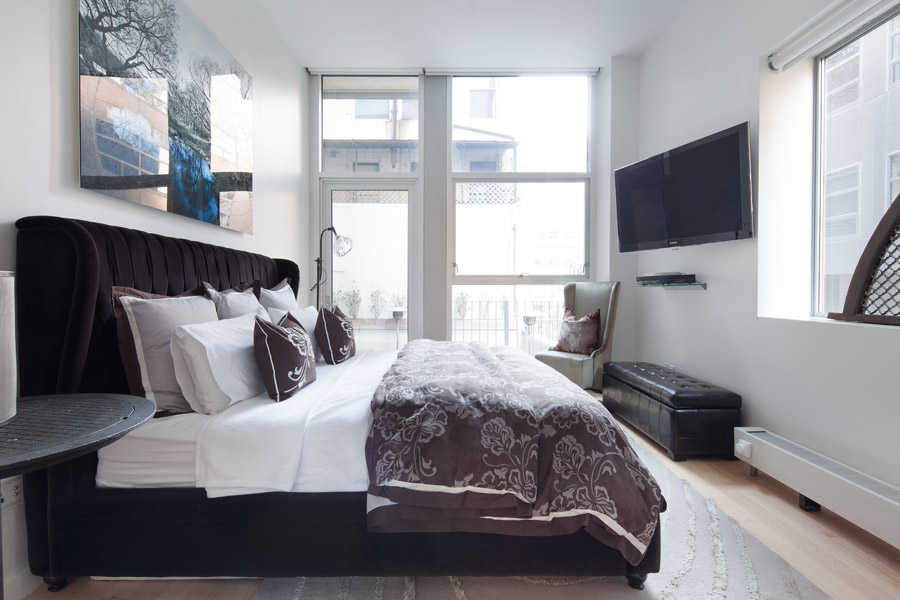 44 Mercer, Soho, Bedroom