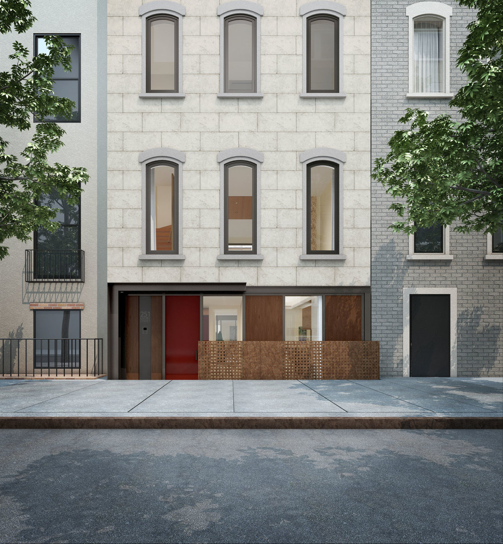 251 East 61st Street, Exterior Front