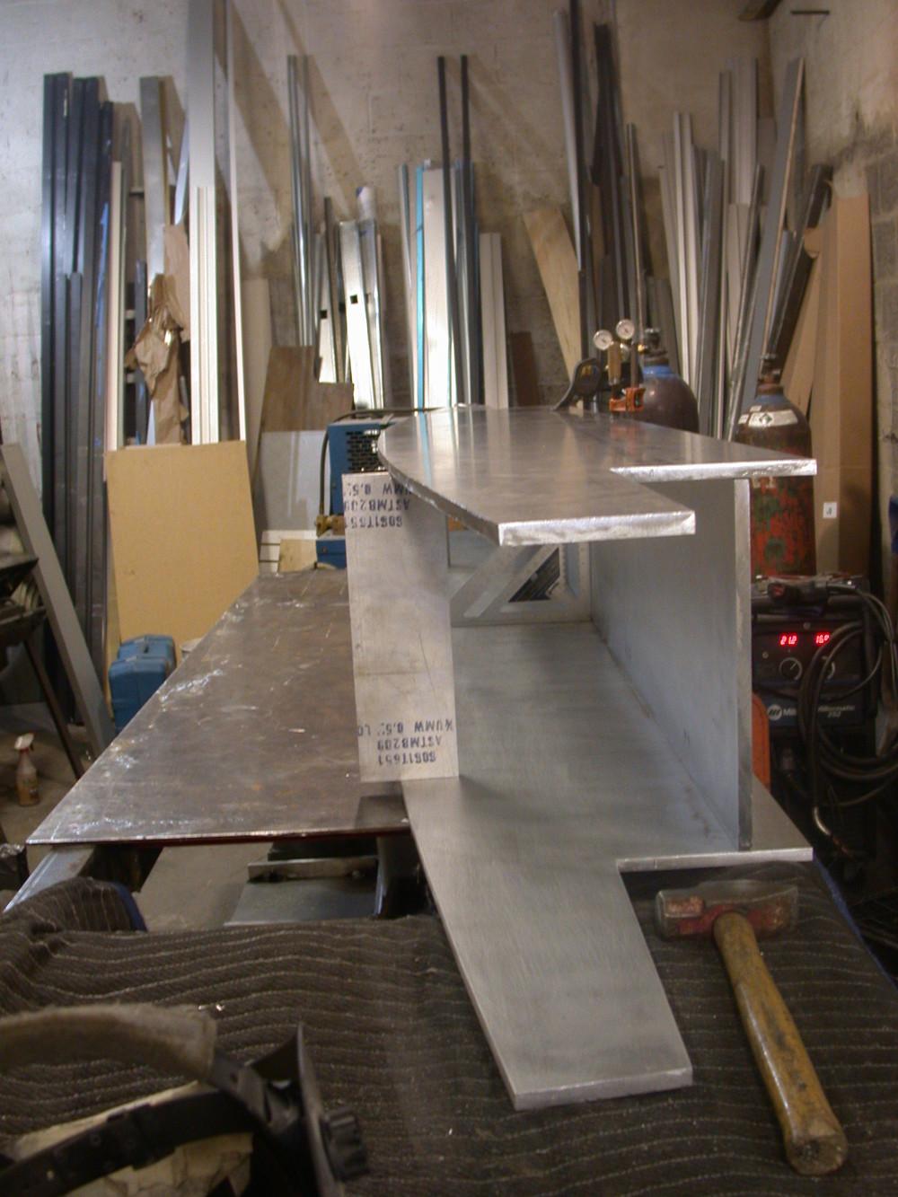 44 Mercer, Soho, Steel support of oriel