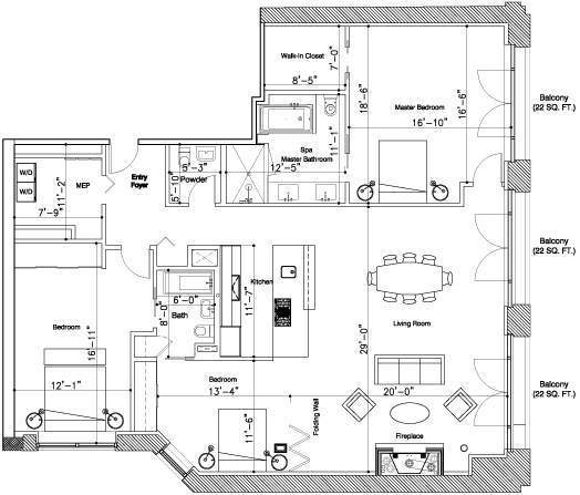 171 MacDougal, Floor Plan