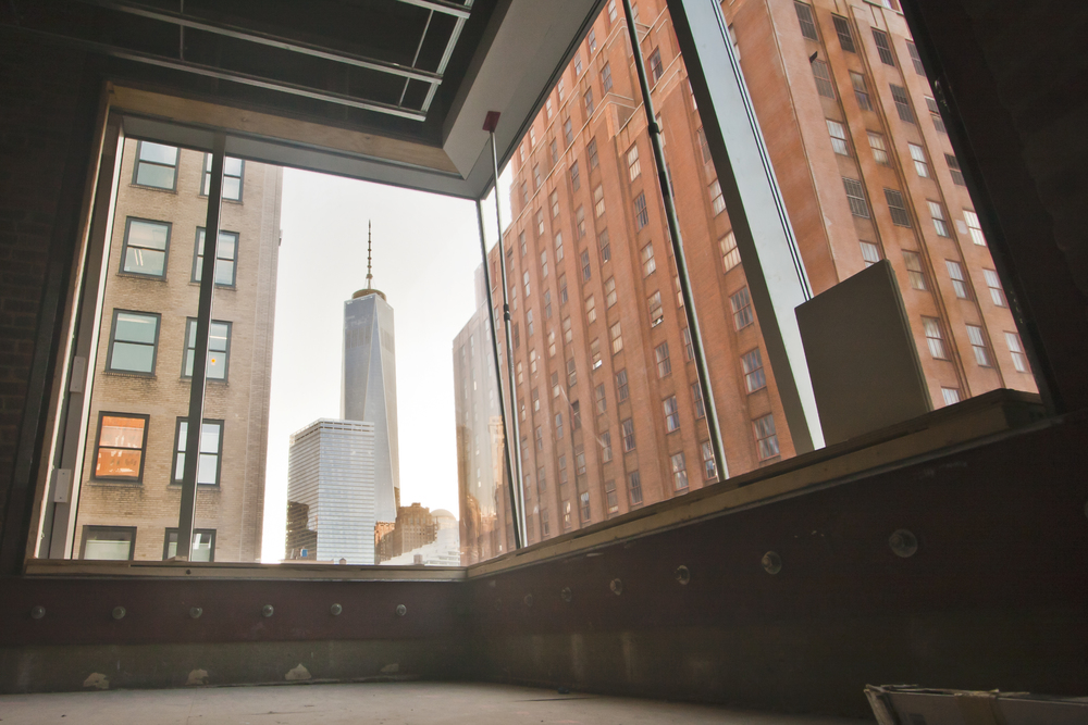 TriBeCa Loft, World Trade Center Window View