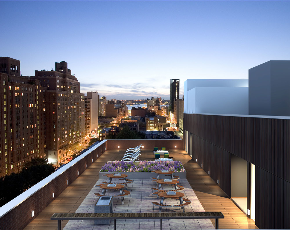 418 West 25th Street, Roof Level