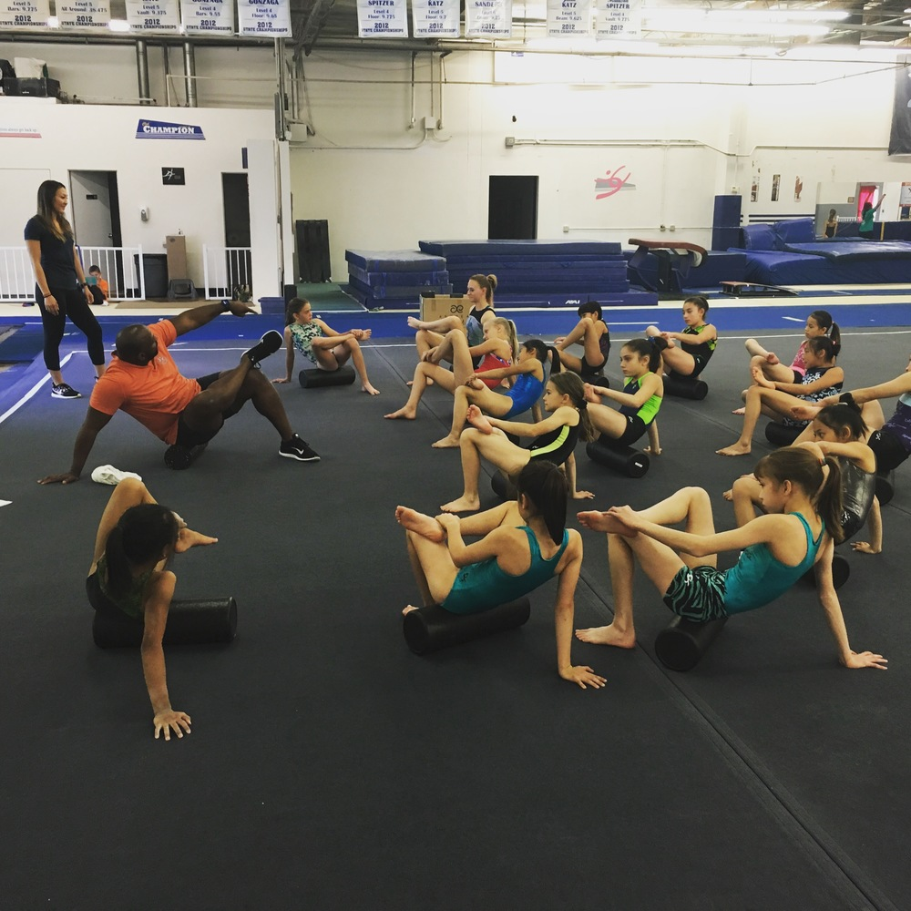 Mobility/Flexibility/Recovery with Club Champion Gymnastics