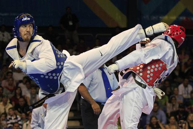 Stephen Lambdin (Taekwondo Olympian)