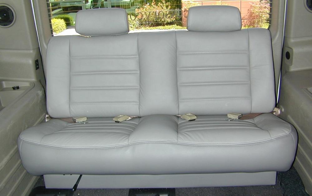 h2 hummer third row seat
