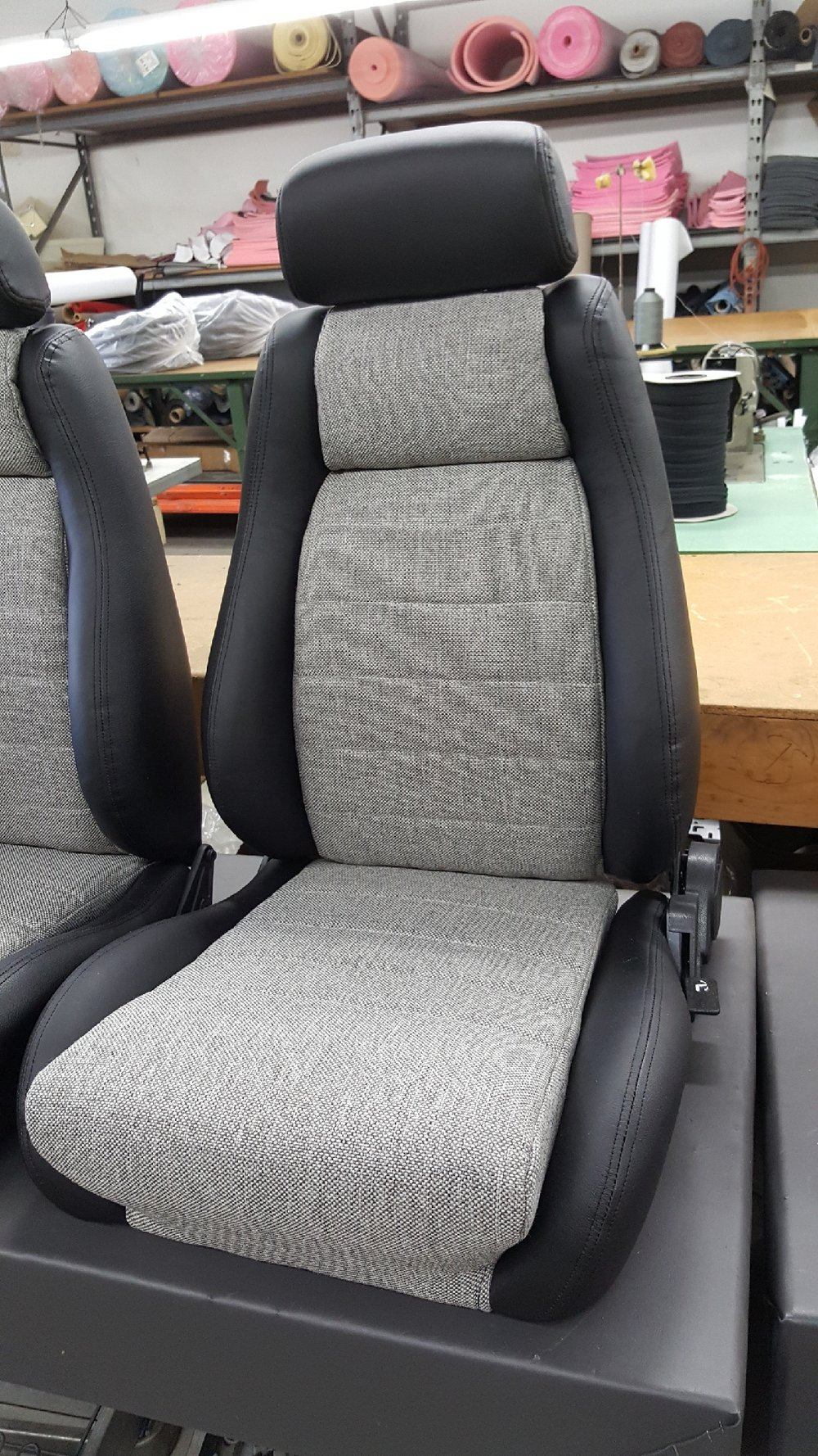 1970 Chevelle Seats Plus Rear Seat Cover — Cerullo Seats