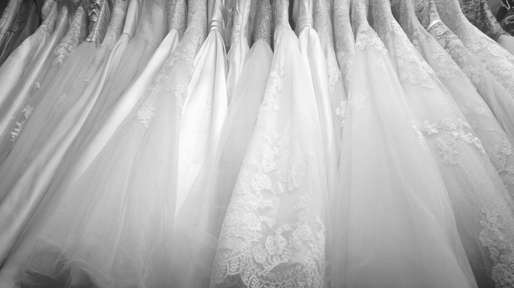 So many wedding dresses to choose from!