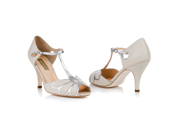 Bridal Shoes - Beautiful designer bridal shoes from Rachel Simpson, Diane Hassall and more.