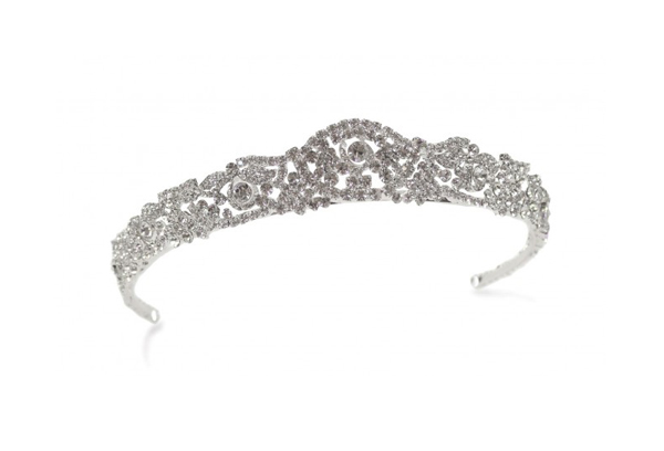 Headpieces - Twinkling tiaras, side pieces and vines from Ivory & Co, Stephanie Browne and more.