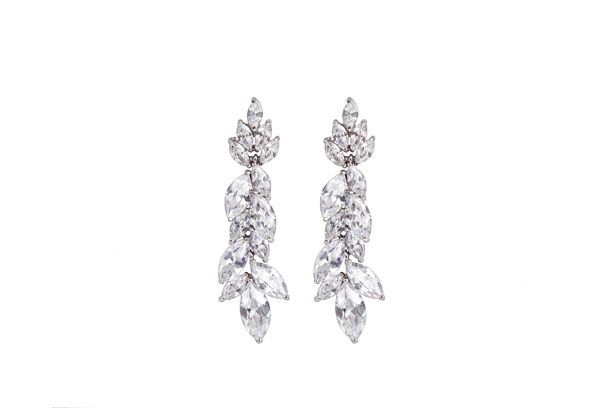 Earrings - Classic pearl drop earrings and sparkly modern styles to complete a bridal look..